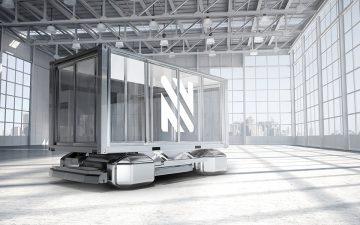 Отличная пара для поездок: модульный электрический автофургон и мини-дом с автономным приводом