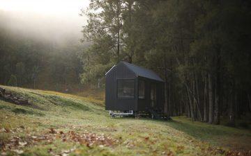 Автономный крошечный домик из Австралии – красивый, простой и удобный
