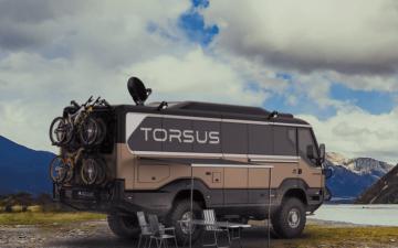 Torsus Overlander: самый крутой внедорожный автобус для кемпинга