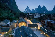 Студия превратила старые фермы в роскошный бутик-отель в Китае