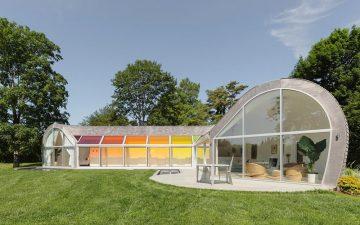 LEED-сертифицированный «Дом-Кокон» с интересным и необычным дизайном