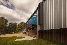 В Австралии построена красивая современная турбаза для велосипедистов