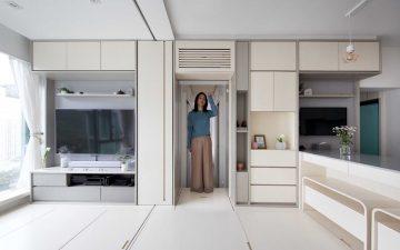 Гонконгский концепт микро-квартиры: «умные» технологии в трансформируемом пространстве