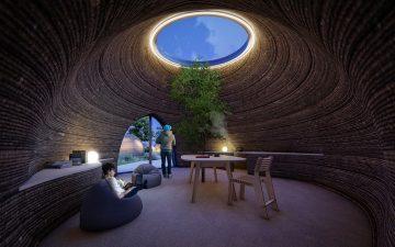 В Италии запущен проект по строительству жилого дома из глины с помощью технологии 3D-печати