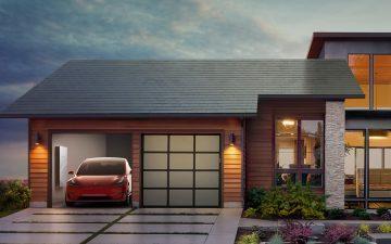 Tesla выпустила новую версию солнечной черепицы для установки на крышах домов