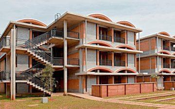Экспериментальный жилой комплекс в Индии – прототип устойчивого жилья будущего