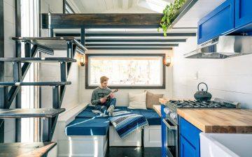 Дом на колесах Ark сочетает в себе автономность с привлекательным дизайном