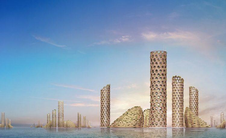 Итальянские архитекторы предлагают устойчивый «Вертикальный Город» будущего