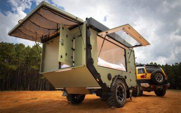 Кемпинг-трейлер Sierra для тех, кто любит приключения и бездорожье