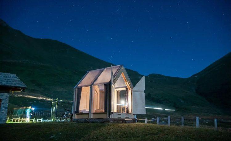 Immerso - мини-дом с прозрачной крышей, который можно собрать всего за 2 часа