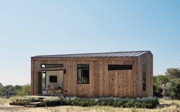Новый модульный сборный дом, который может быть установлен на участке всего за 2 недели