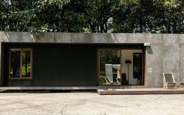 Автономный контейнерный дом в Мексике готов к заселению за 99 дней