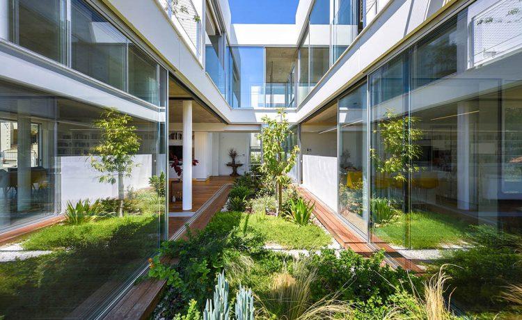 Garden House – настоящий сад в городском пейзаже