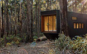 Автономный миниатюрный домик в Австралии – новое место для уединенной жизни в наступившем году