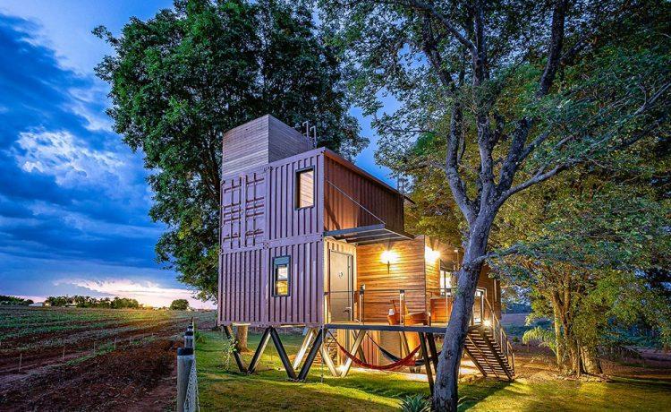 Этот контейнерный дом позволит жильцам с комфортом жить вдали от цивилизации