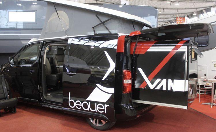 Дополнительный спальный модуль от Beauer для расширения пространства в автофургоне