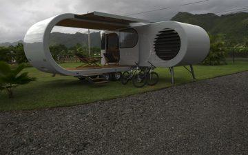 Неординарный складной дом-фургон Romotow скоро появится на рынке