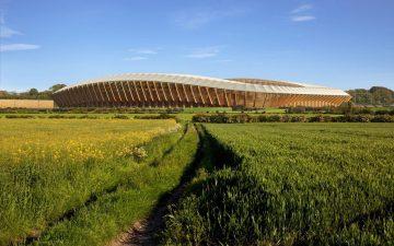 Деревянный стадион Zaha Hadid Architects получил разрешение на строительство