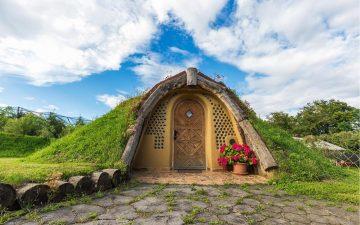 Очаровательный дом хоббита в Словении построен из местных материалов