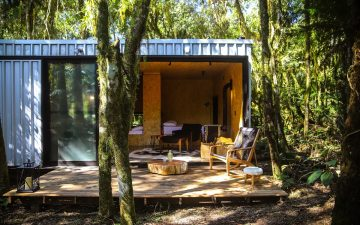 Эко-ретрит Alpes São Chico построен за два дня