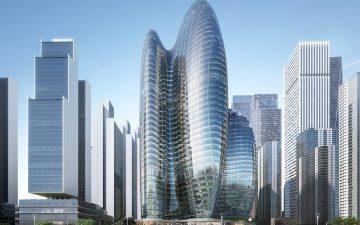 ZHA представляет проект штаб-квартиры OPPO в Шэньчжэне