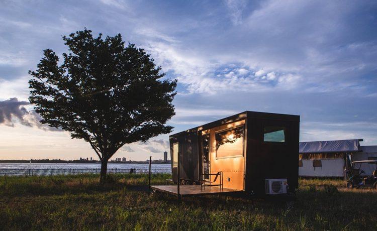 Дом для отдыха Outlook Shelter с роскошными панорамными видами на Нью-Йорк
