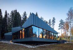 Экологичный мини-дом 3-Square House выполнен в скандинавском стиле