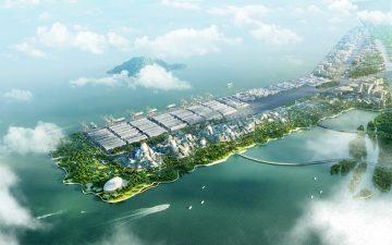 Экологичный умный город для китайской корпорации Tencent