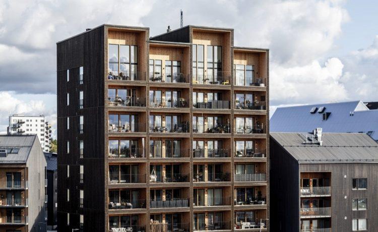 В Швеции построен экологически устойчивый деревянный небоскреб