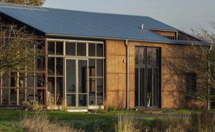 Дом из конопли построен в графстве Кембриджшир