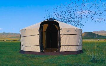 GerTent: старая новая палатка для кемпинга