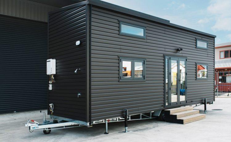 Крошечный двухэтажный дом «под ключ» Home Haven от Build Tiny