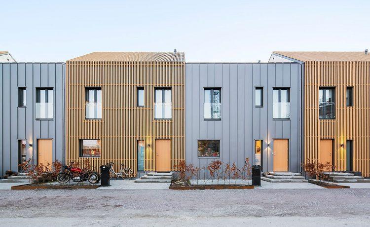 Модульные дома в Швеции специально разработаны для установки солнечных батарей