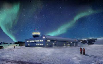 Начато строительство нового антарктического исследовательского корпуса