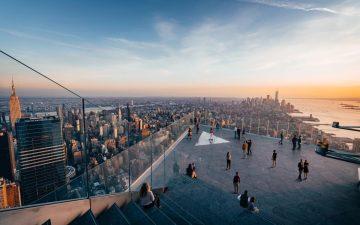 Новая смотровая площадка Edge позволяет посетителям увидеть Нью-Йорк сверху