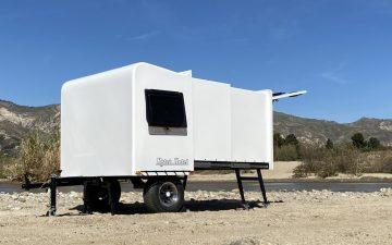 Hitch Hotel Traveler: крошечный телескопический дом на колесах