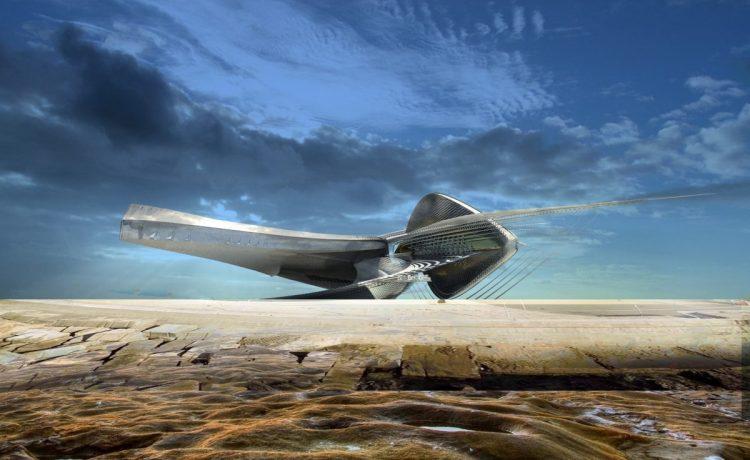 Ошеломляющий концепт арт-галереи обеспечит гидроэлектроэнергией окружающие дома в Сочи