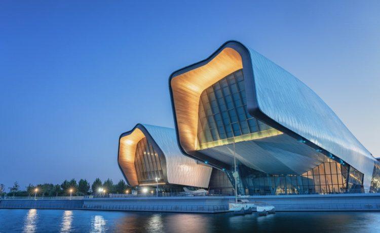 В Китае построен морской музей с энергосберегающими технологиями