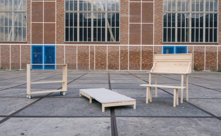 Складная мебель от голландских дизайнеров собирается за 10 минут