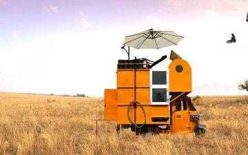 Solo 01: микро-дом на основе рикши для жизни в дикой природе