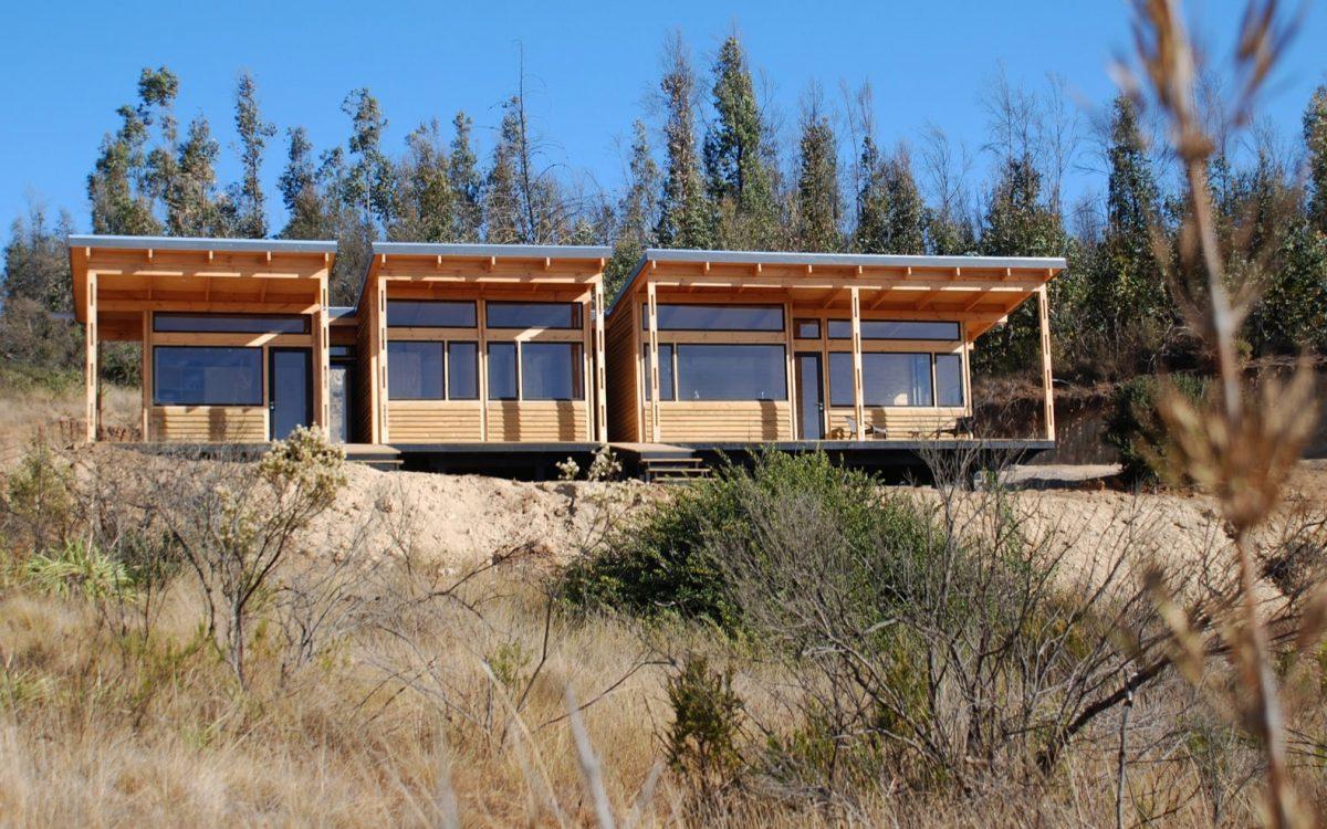 Дом для отдыха на солнечной энергии и с видом на океан