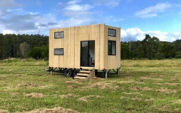 Новый мини-дом Rubia отличается минималистичным и устойчивым дизайном