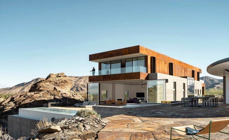 Дом из кортеновской стали – воплощение роскоши в пустыне