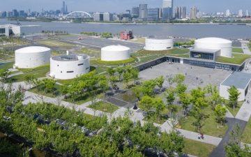 Заброшенные топливные резервуары переоборудованы под новый шанхайский художественный музей