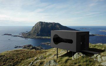 Сборный жилой модуль Birdbox для любителей природы