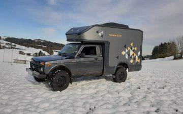 Мини-дом на колесах Lada 4x4: комфортное путешествие по-русски