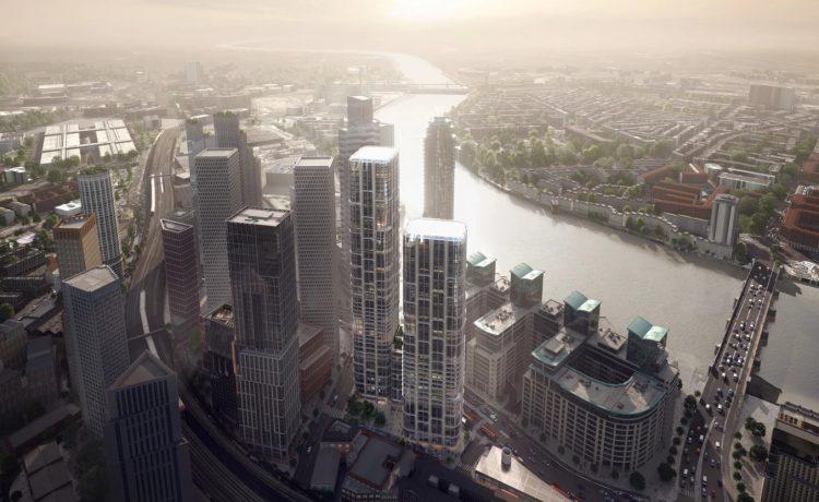 Два небоскреба, разработанных Захой Хадид, будут построены в Лондоне