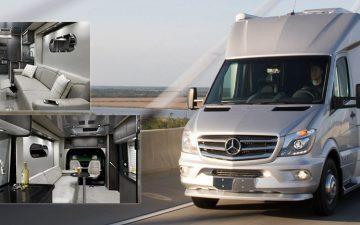 Новый кемпер Airstream оснащен солнечными батареями для автономного питания