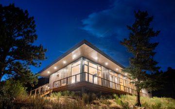 Прочный и теплый дом с пассивными энергосберегающими технологиями
