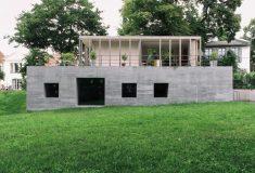 Образец немецкого дома сезонного проживания: современный и энергосберегающий